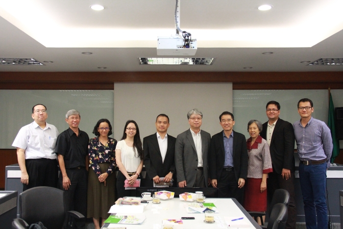 PRO-Green Meeting The Center for Green Economy (CGE), Taiwan