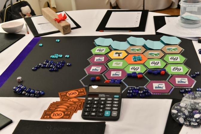 การประชุมเชิงปฏิบัติการเรื่อง กติกาการจัดสรรน้ำผ่านกระบวนการเกม